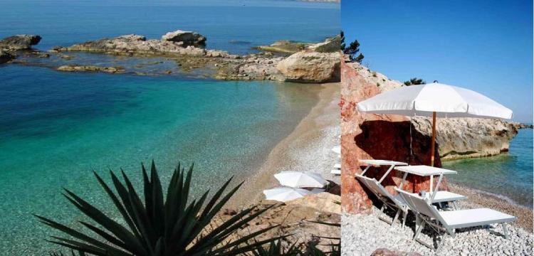 Non sono i Tropici ma la spiaggia dei Balzi Rossi a Imperia