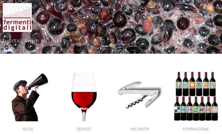 Fermenti digitali strumenti per il vino digitale